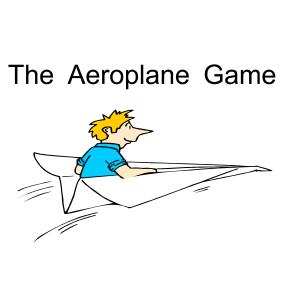 WorldGAMES Business Training Game - Aeroplane Game